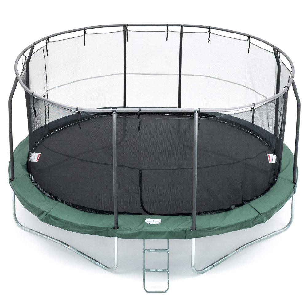 Soikea trampoliini