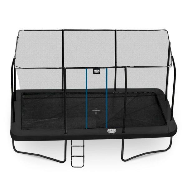 Suuri suorakaiteen muotoinen trampoliini